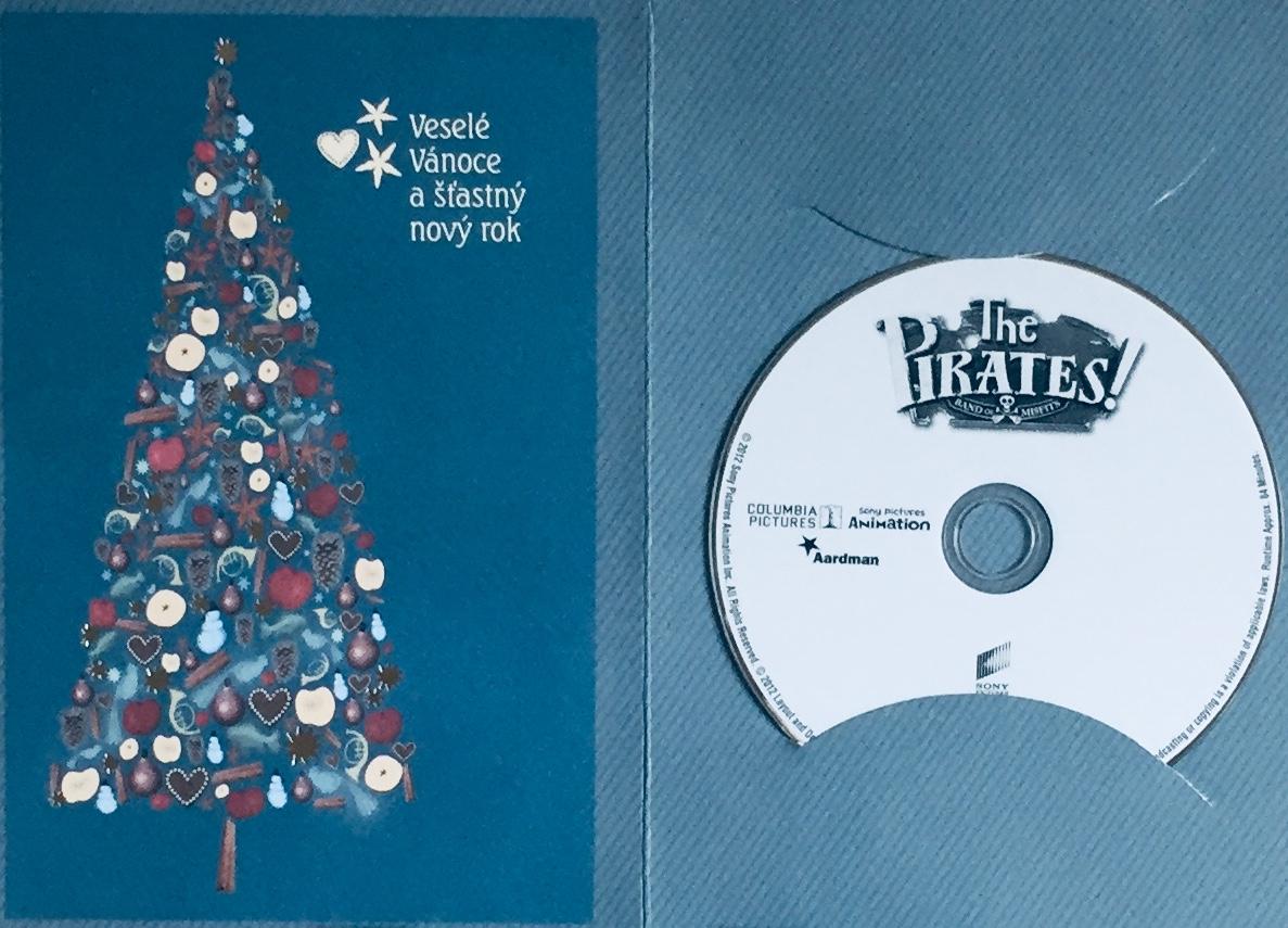 The Pirates / Piráti! - DVD /dárkový obal/