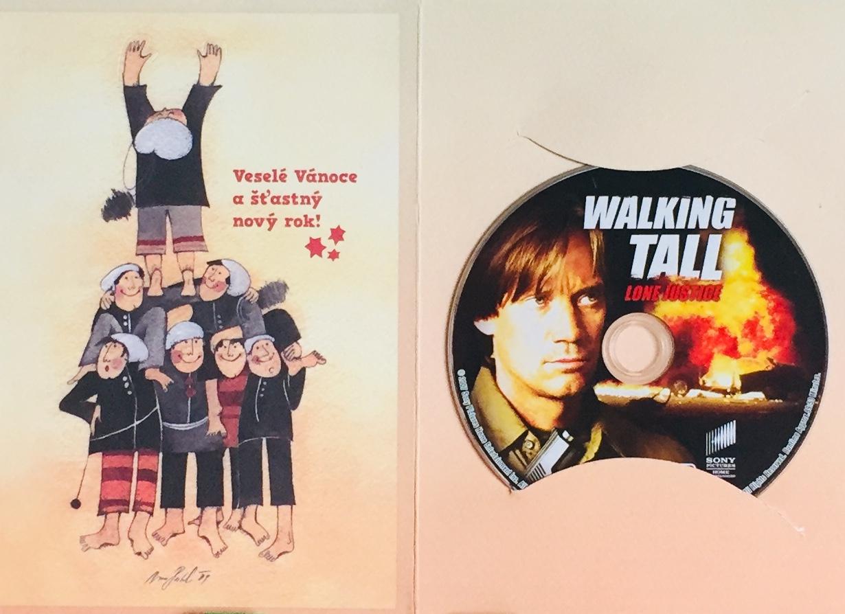 Walking Tall - Lone Justice / Kráčející skála 3 - Spravedlnost - DVD /dárkový obal/