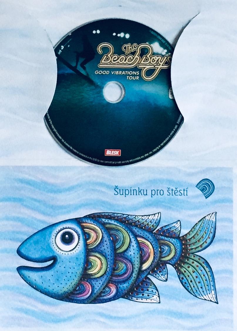 The Beach Boys - Good Vibrations Tour - DVD /dárkový obal/