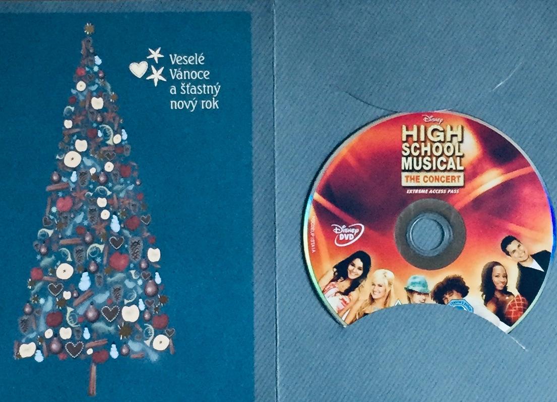 High School Musical / Muzikál ze střední - DVD /dárkový obal/
