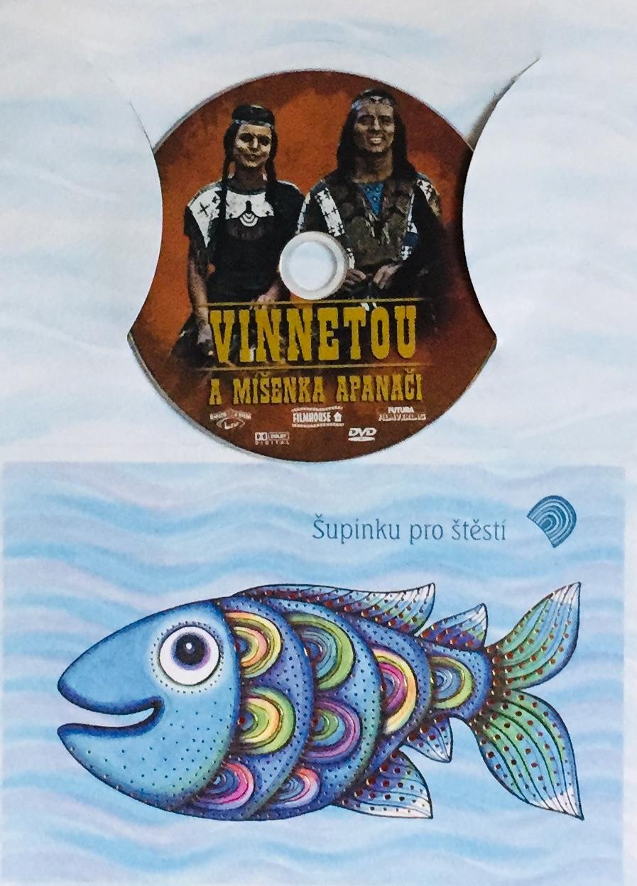 Vinnetou a míšenka Apanači - DVD /dárkový obal/