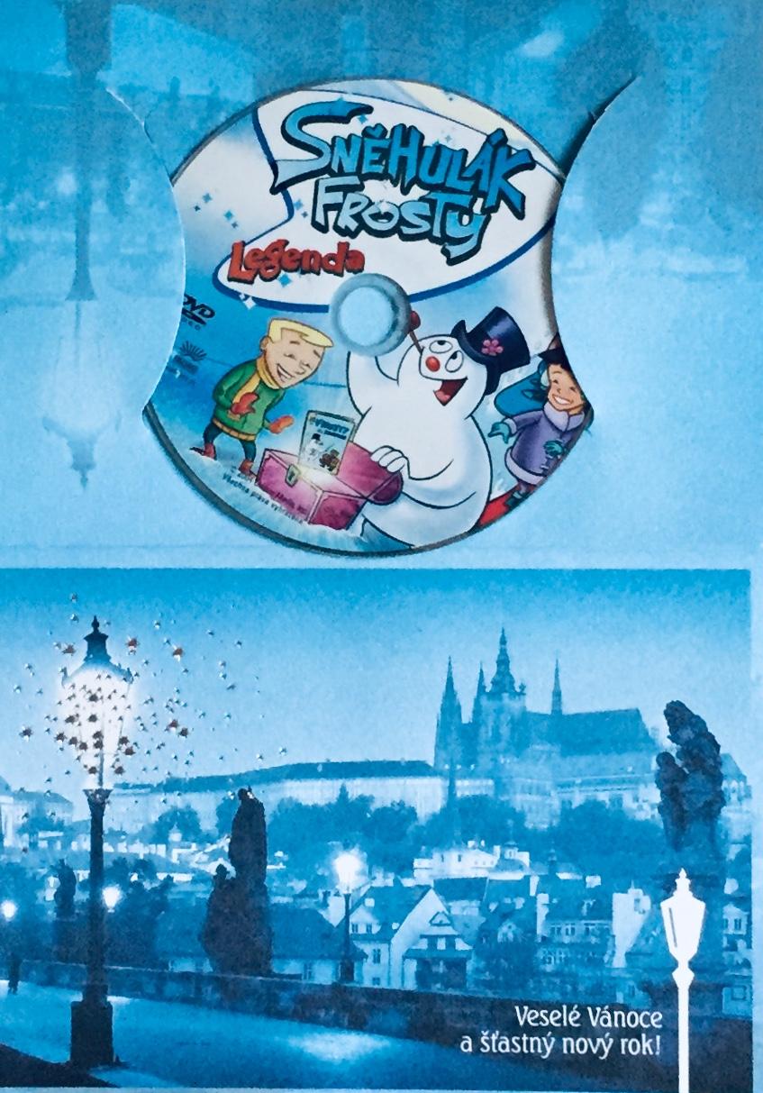 Sněhulák Frosty - DVD /dárkový obal/