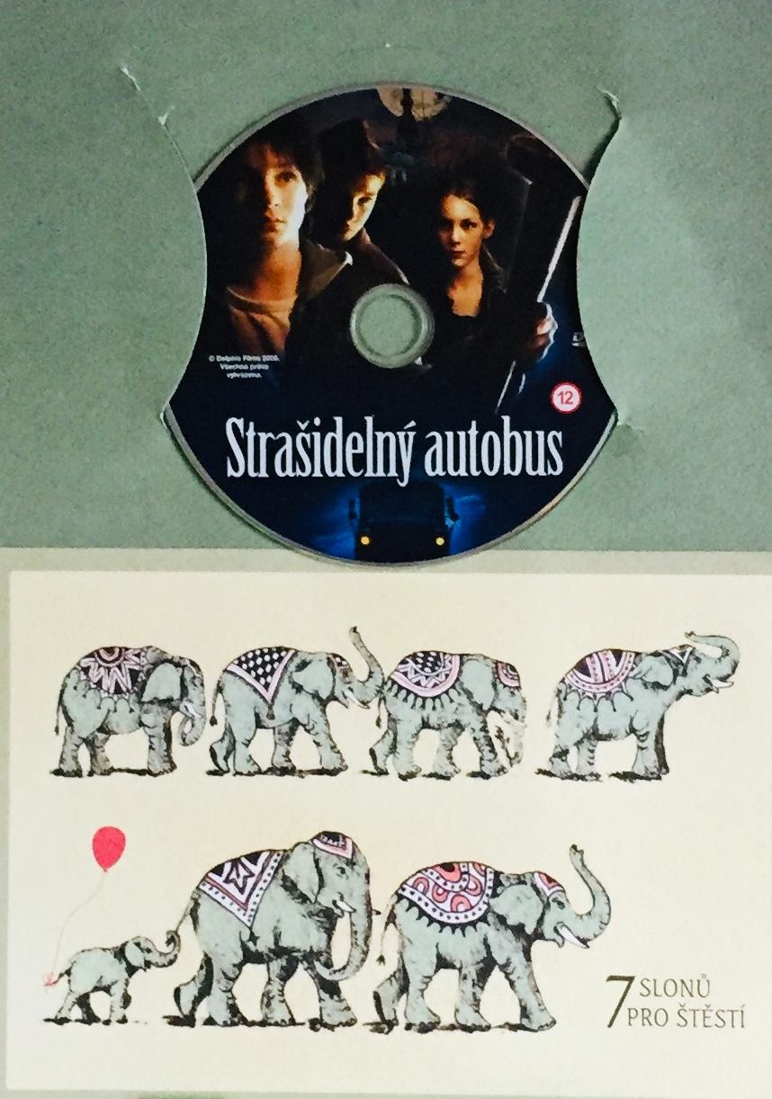 Strašidelný autobus - DVD /dárkový obal/