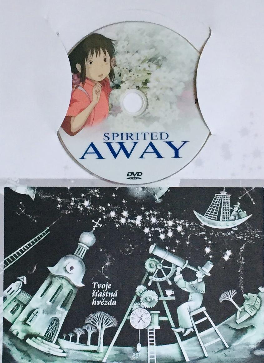 Spirited Away / Cesta do fantazie - DVD /dárkový obal/