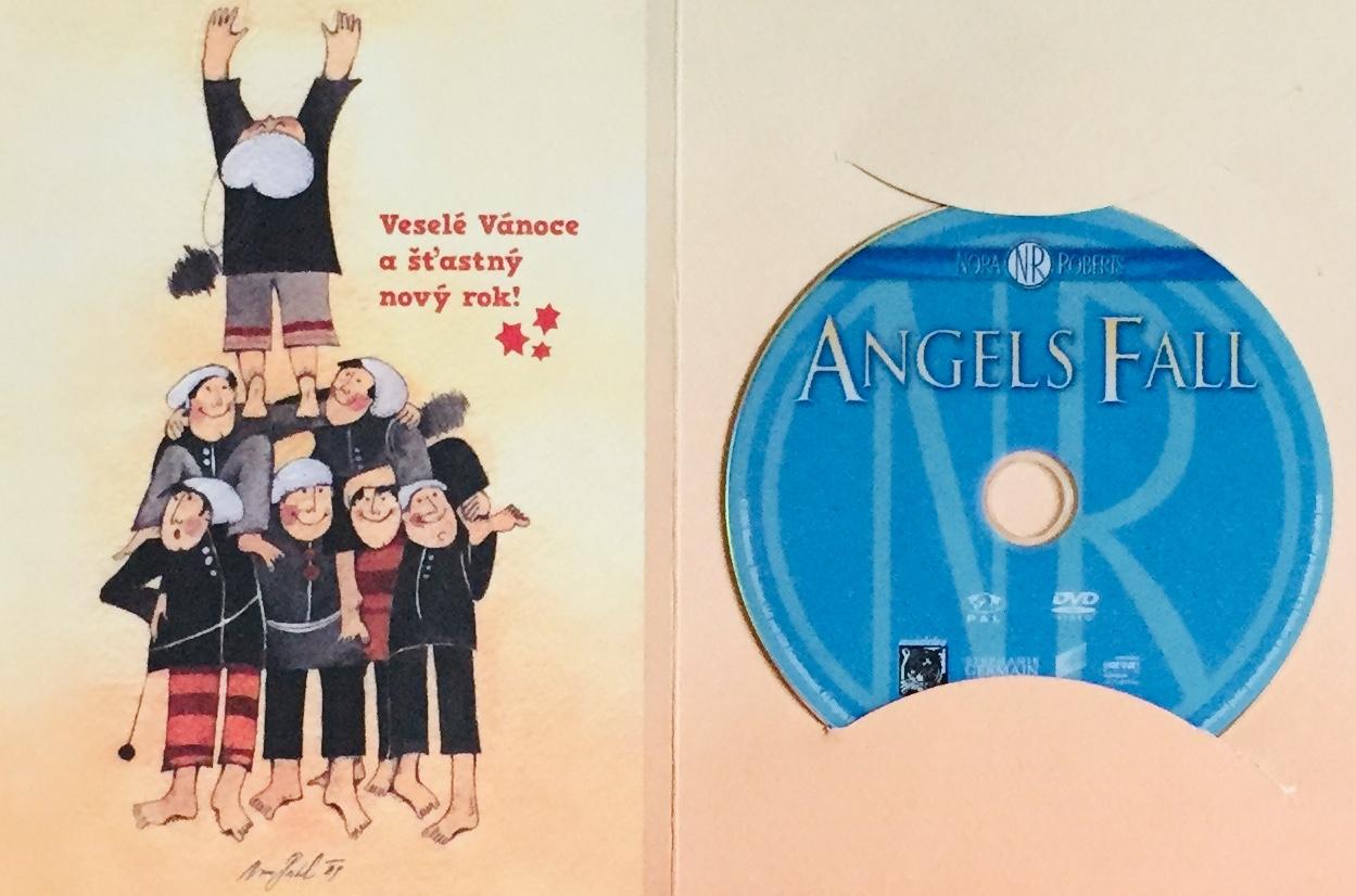 Angels Fall / Pád anděla - DVD /dárkový obal/