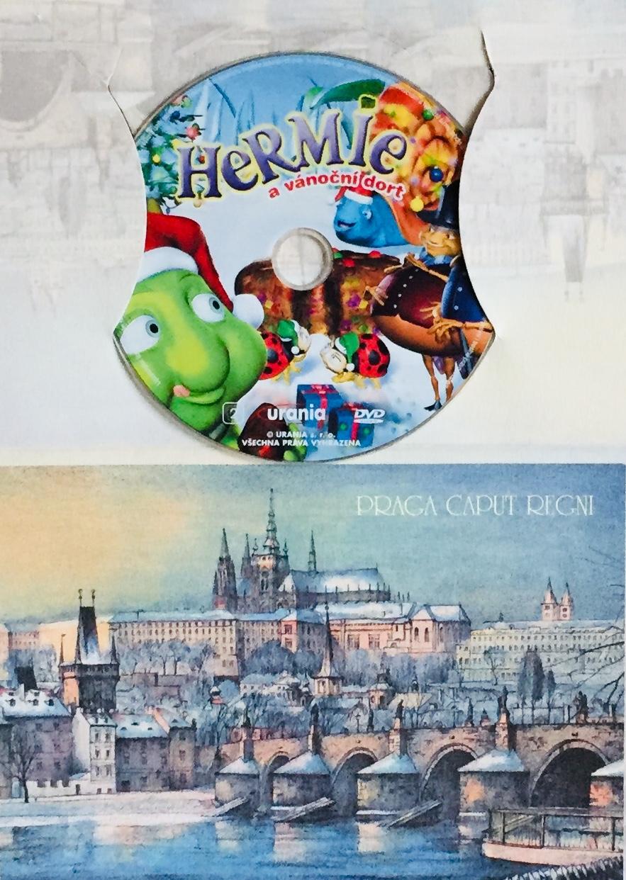 Hermie a vánoční dort - DVD /dárkový obal/