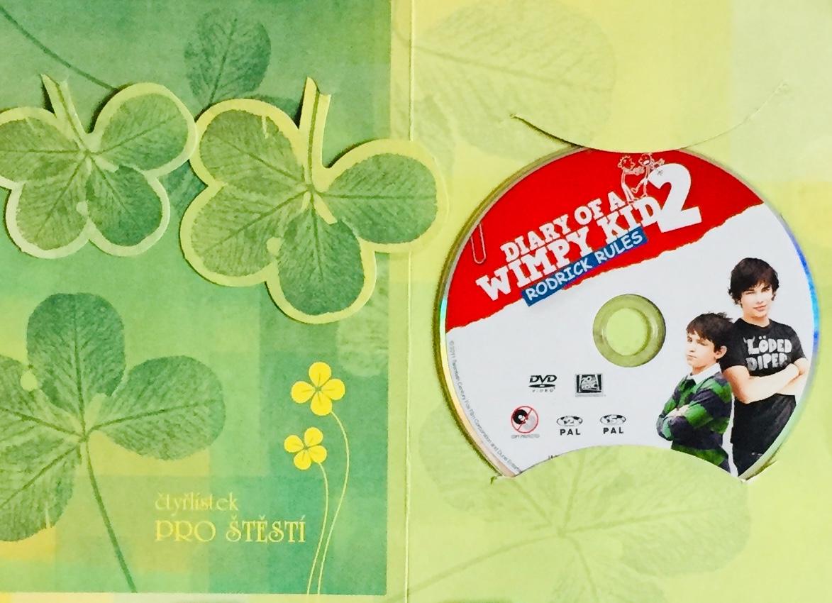 Diary of a Wimpy Kid 2 / Deník malého poseroutky 2 - DVD /dárkový obal/