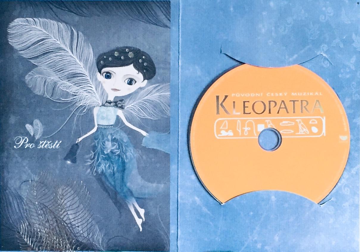 Kleopatra - původní český muzikál - DVD /dárkový obal/