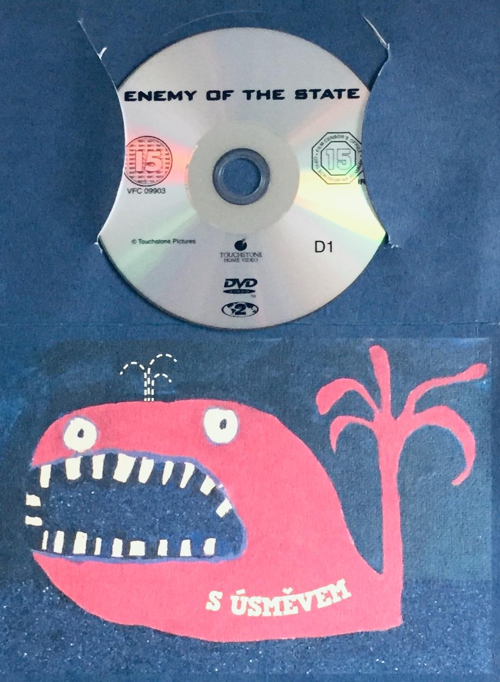Enemy of the State / Nepřítel státu - DVD /dárkový obal/