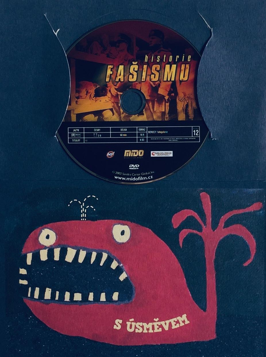 Historie fašismu - DVD /dárkový obal/