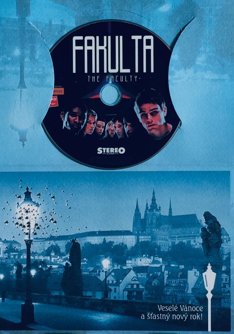 Fakulta - DVD /dárkový obal/