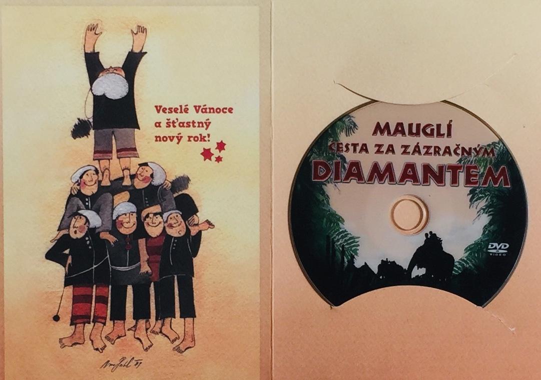 Mauglí - Cesta za zázračným diamantem - DVD /dárkový obal/