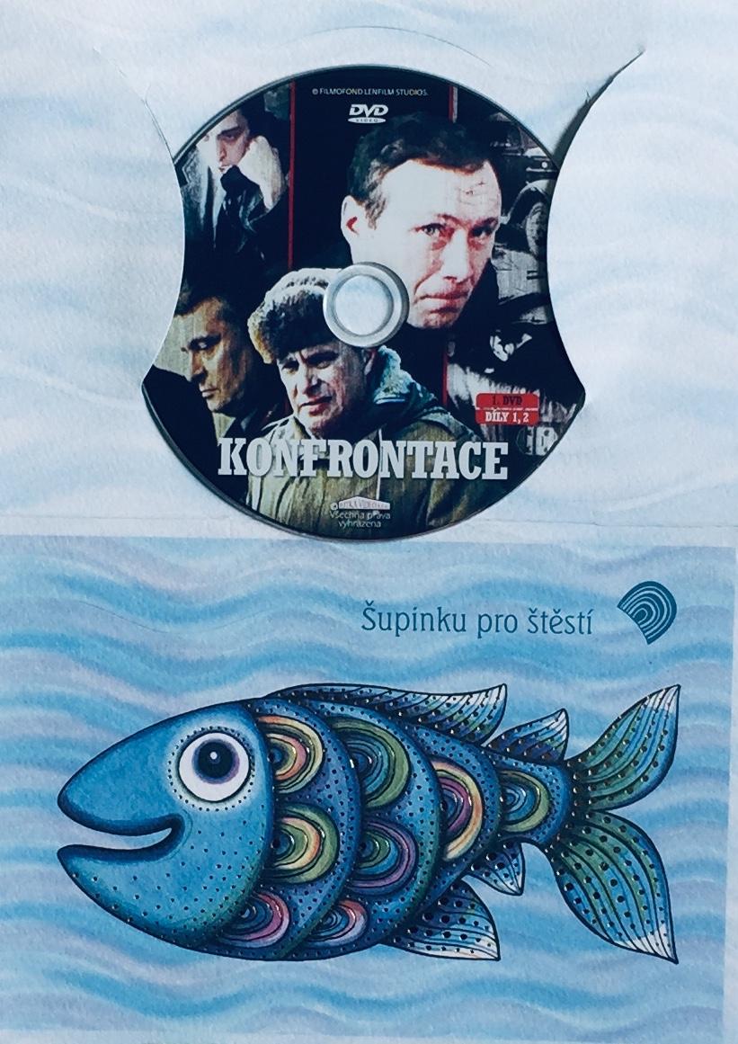 Konfrontace 1 - DVD /dárkový obal/