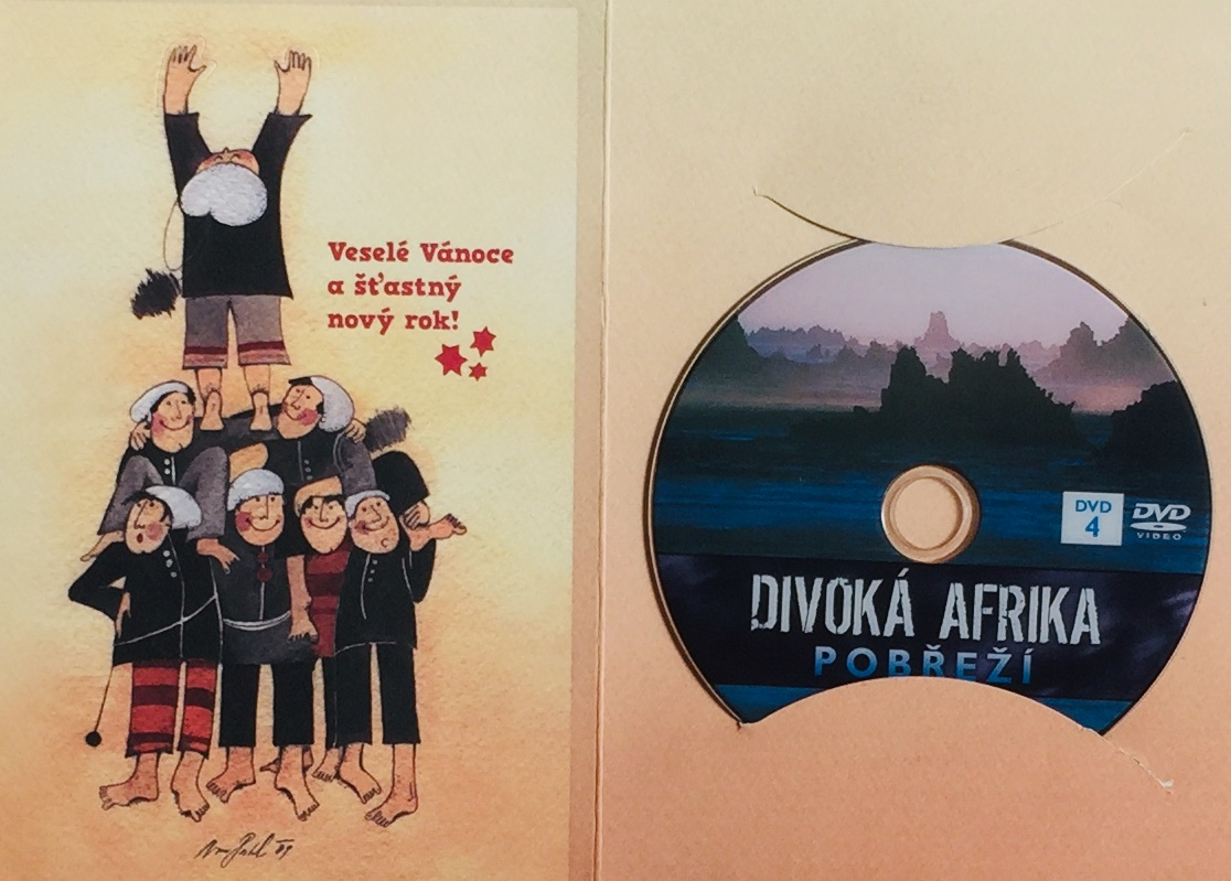 Divoká Afrika - Pobřeží - DVD /dárkový obal/