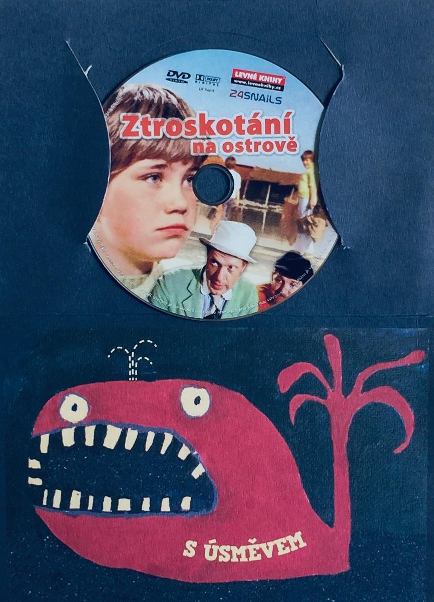 Ztroskotání na ostrově - DVD /dárkový obal/