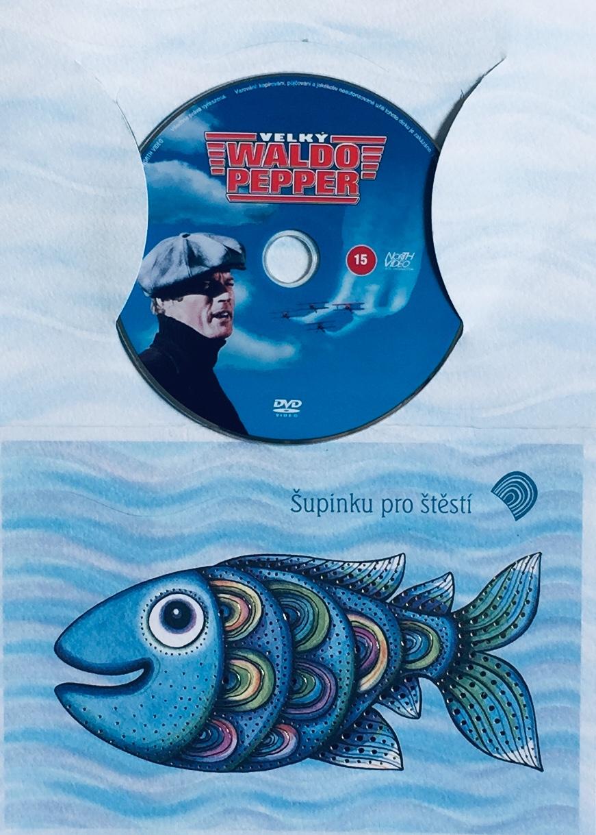 Velký Waldo Pepper - DVD /dárkový obal/