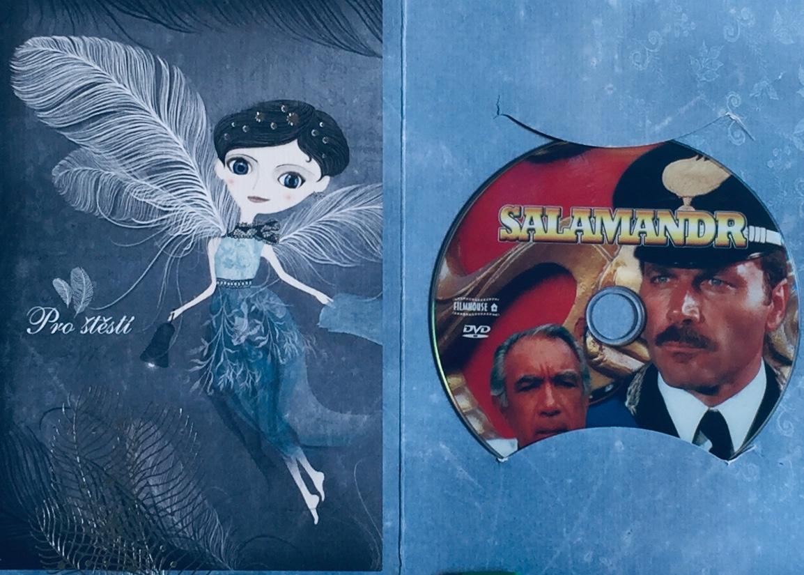 Salamandr - DVD /dárkový obal/