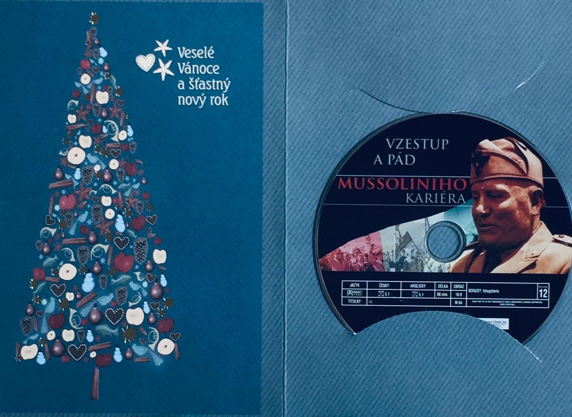Mussoliniho kariéra - Vzestup a pád - DVD /dárkový obal/
