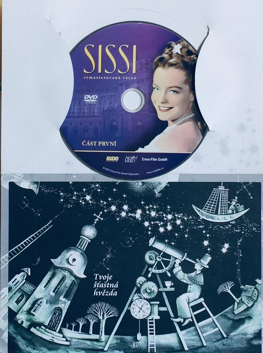 Sissi 1 - DVD /dárkový obal/