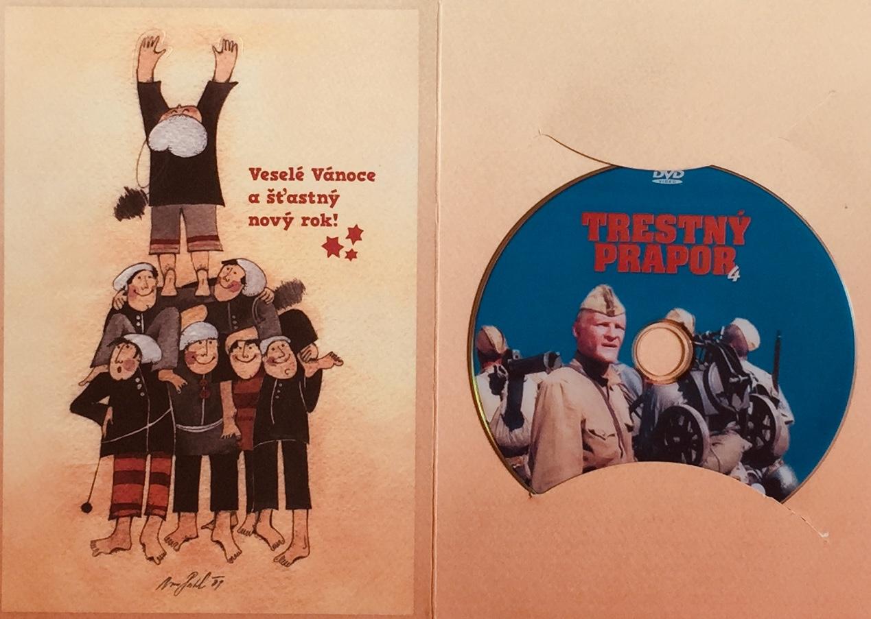 Trestný prapor 4 - DVD /dárkový obal/