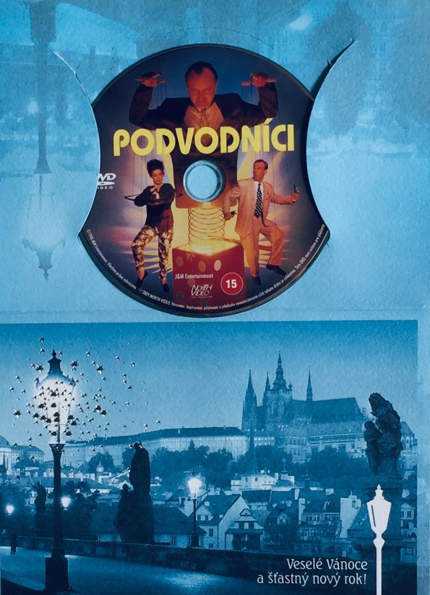 Podvodníci - DVD /dárkový obal/