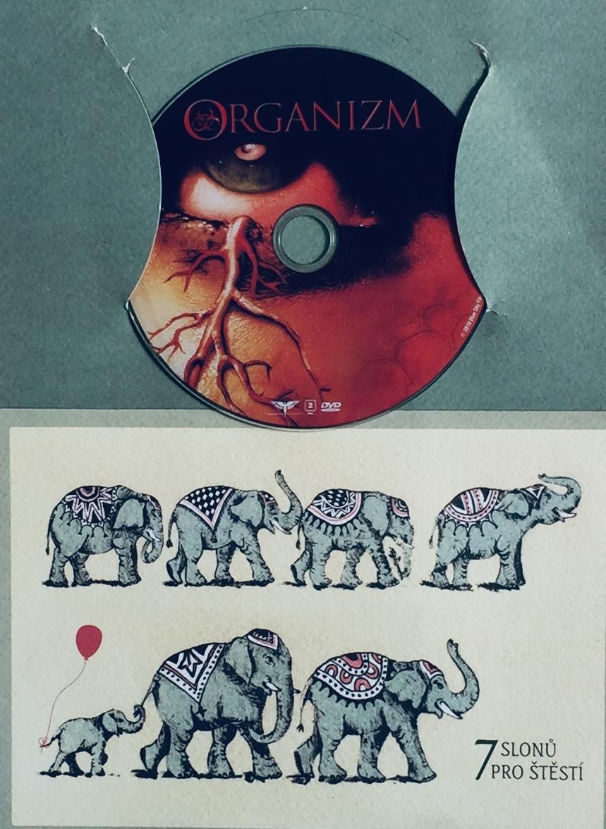 Organizm - DVD /dárkový obal/