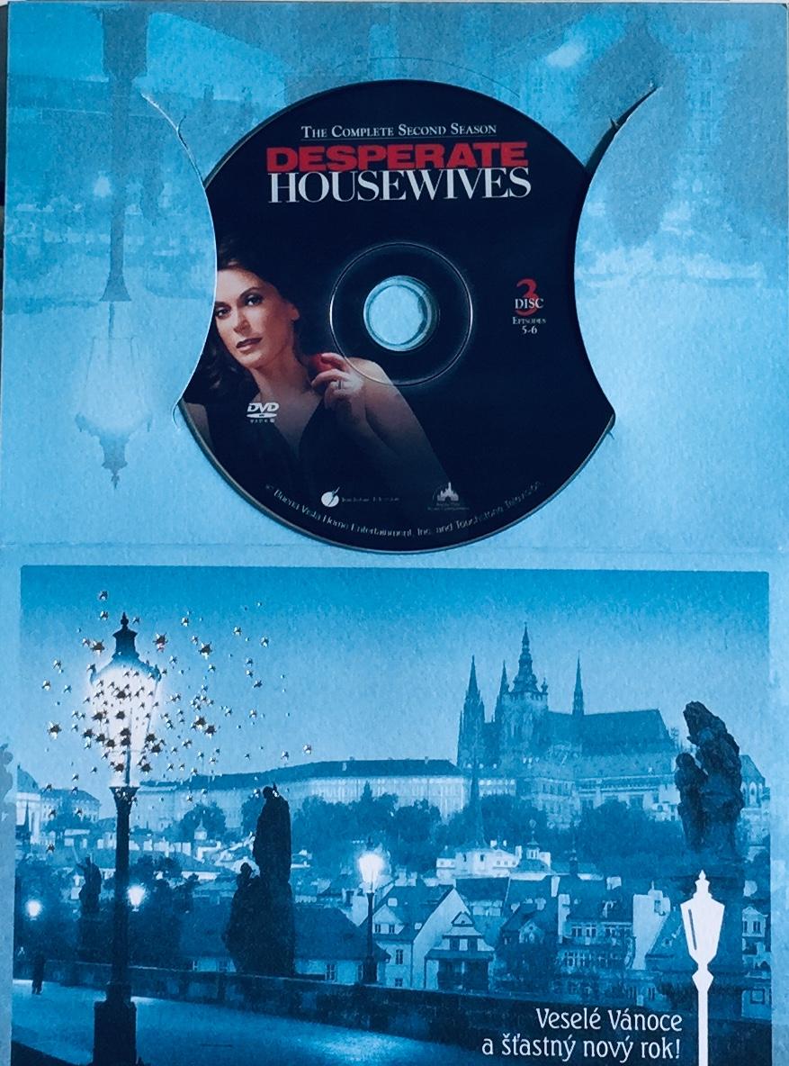 Zoufalé manželky - Série 2 - disk 3 - DVD /dárkový obal/