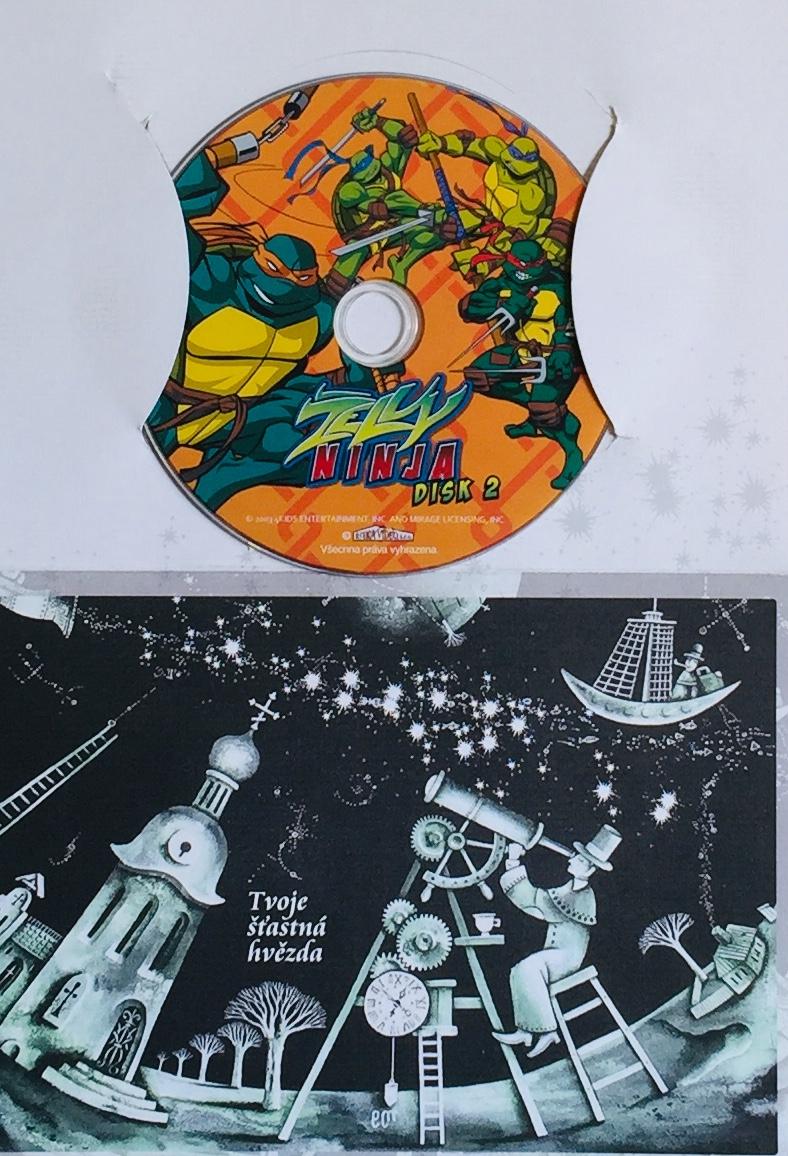 Želvy Ninja 2 /filmag/ - DVD /dárkový obal/