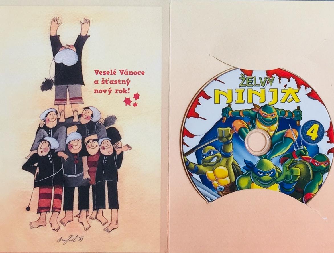 Želvy Ninja 4 /VAPET/ - DVD /dárkový obal/