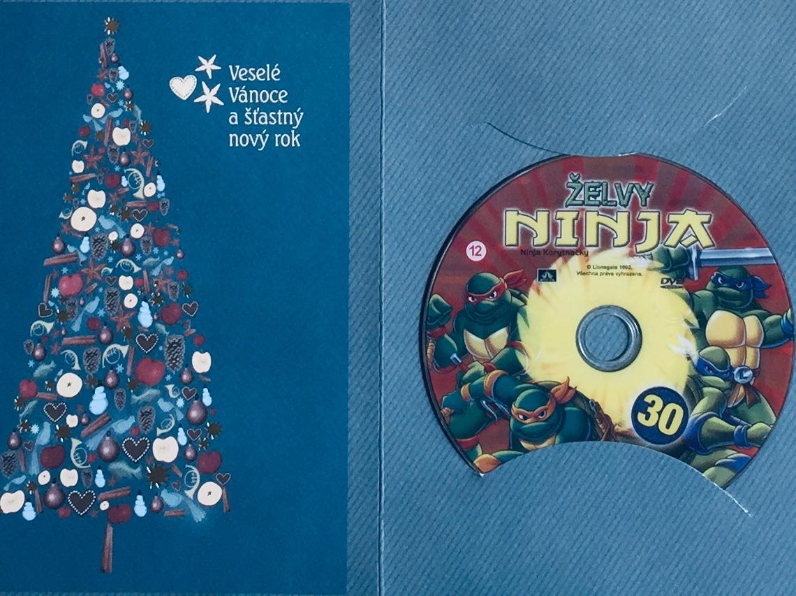 Želvy Ninja 30 /VAPET/ - DVD /dárkový obal/