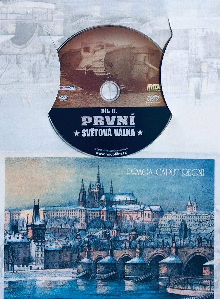 První světová válka - díl II. - DVD /dárkový obal/