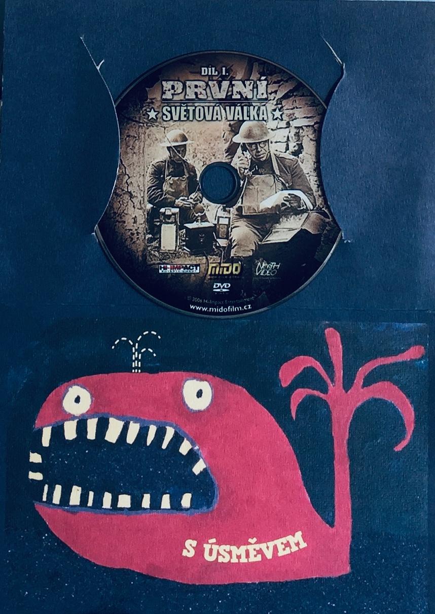 První světová válka - díl I. - DVD /dárkový obal/