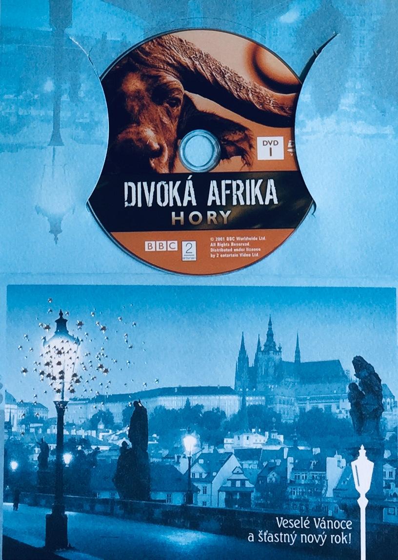 Divoká Afrika - Hory - DVD /dárkový obal/