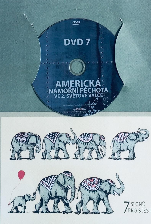 Americká námořní pěchota ve 2. světové válce 7 - DVD /dárkový obal/