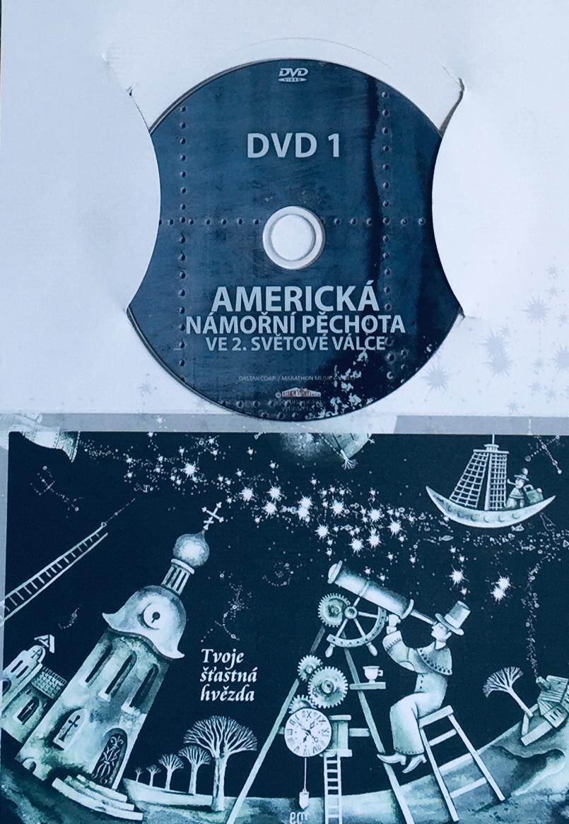 Americká námořní pěchota ve 2. světové válce 1 - DVD /dárkový obal/
