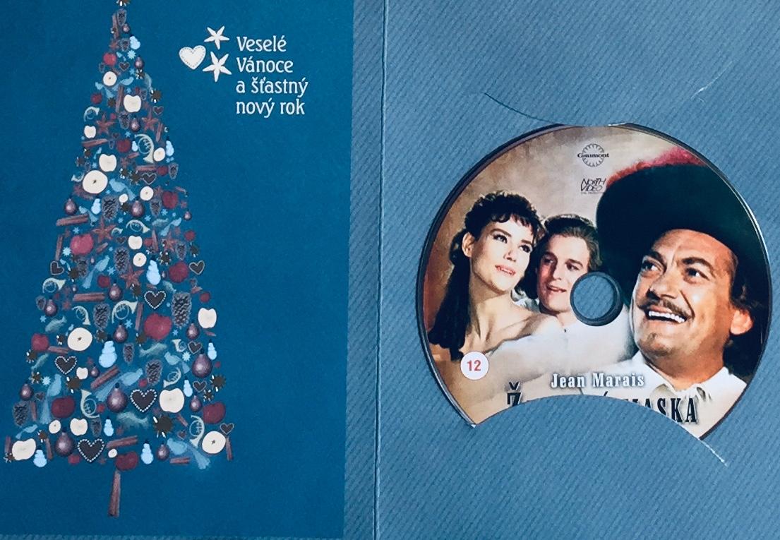 Železná maska - DVD /dárkový obal/