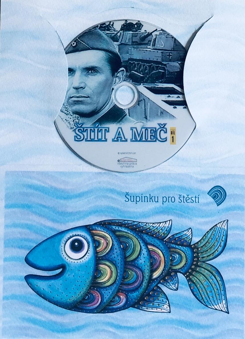 Štít a meč 1 - DVD /dárkový obal/