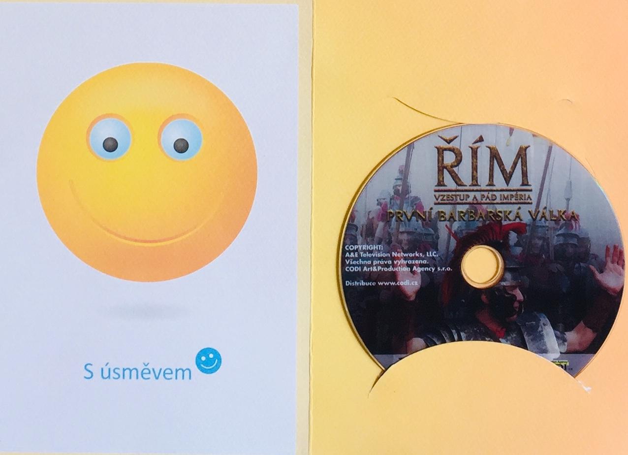 Řím - Vzestup a pád - První Barbarská válka - DVD /dárkový obal/