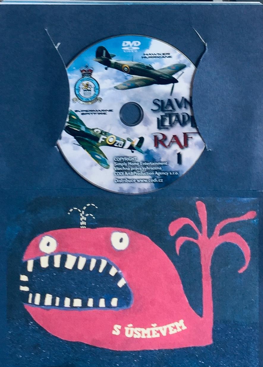 Slavná letadla RAF 1 - DVD /dárkový obal/
