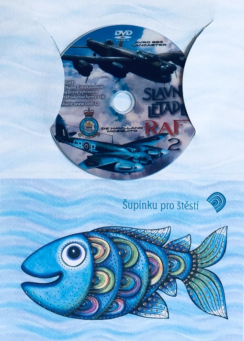 Slavná letadla RAF 2 - DVD /dárkový obal/