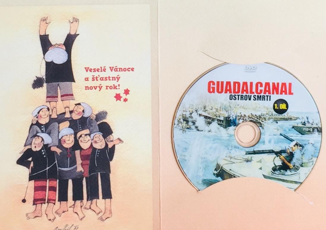 Guadalcanal - Ostrov smrti 1 - DVD /dárkový obal/