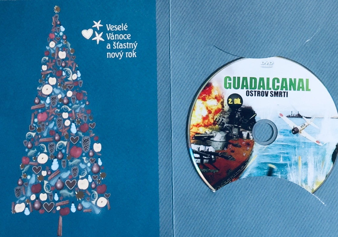 Guadalcanal - Ostrov smrti 2 - DVD /dárkový obal/