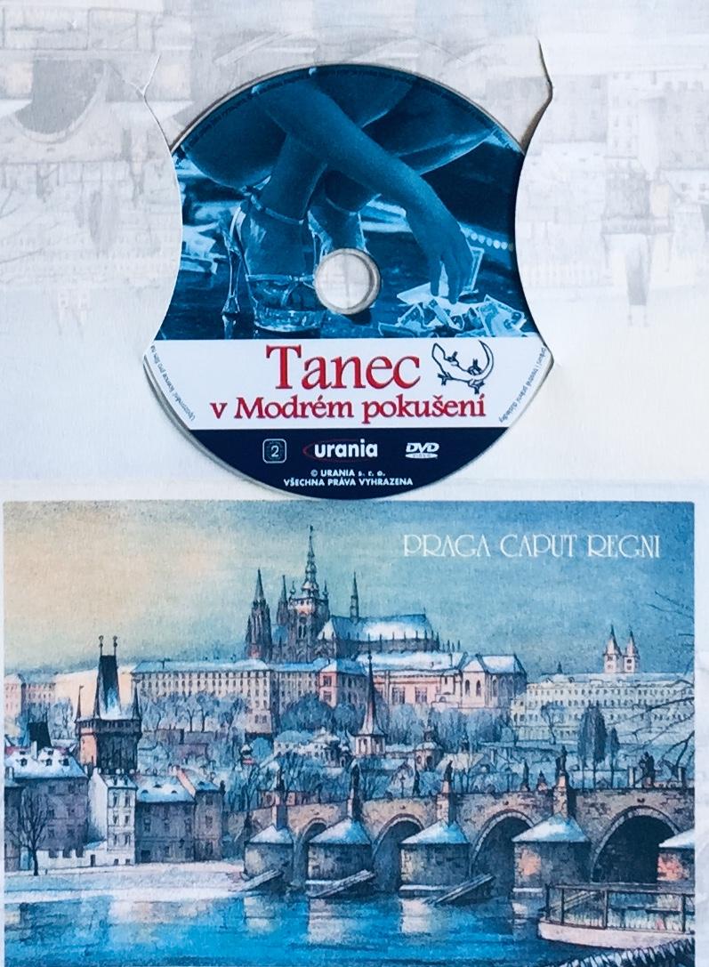 Tanec v Modrém pokušení - DVD /dárkový obal/