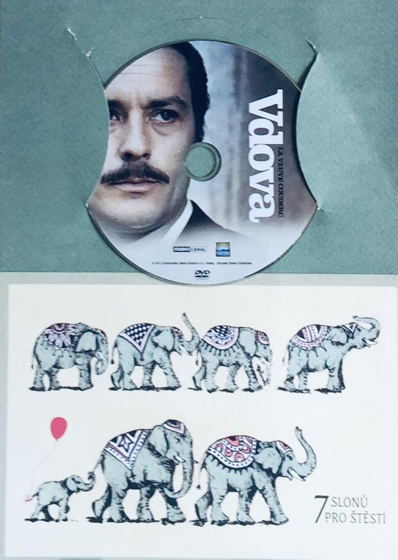 Vdova - DVD /dárkový obal/