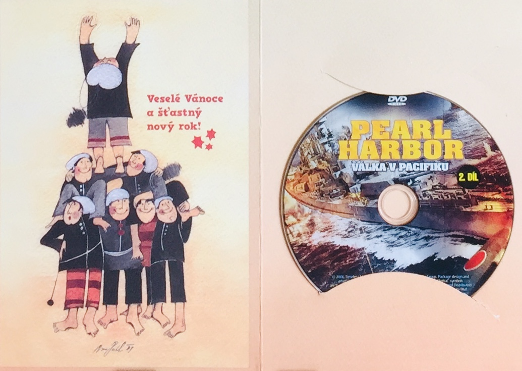 Pearl Harbor - Válka v Pacifiku 2 - DVD /dárkový obal/