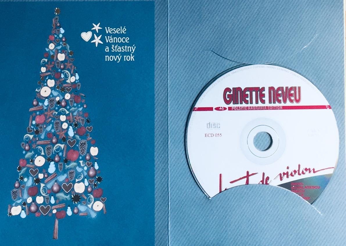 Ginette Neveu - L'art de Violin - CD /dárkový obal/