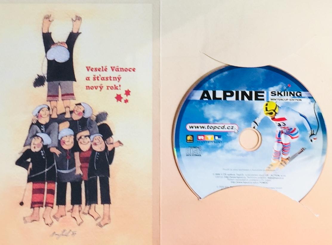Alpine Skiiing - Wintercup Edition - PC CD /dárkový obal/