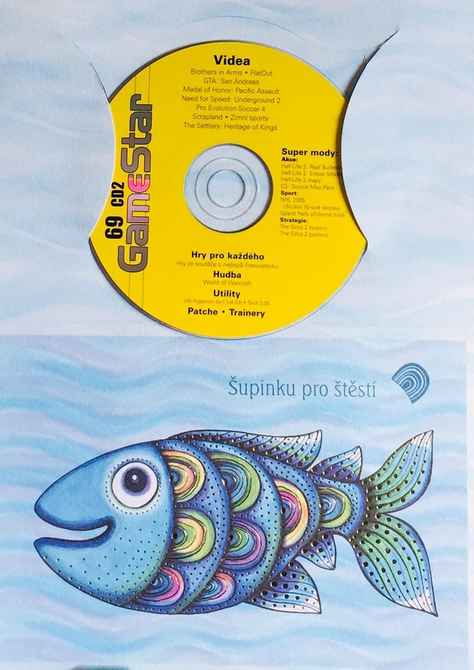GameStar 69 - PC CD-ROM /dárkový obal/