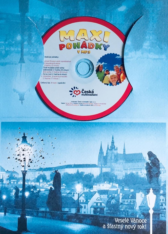 Maxi pohádky v MP3 - PC CD /dárkový obal/