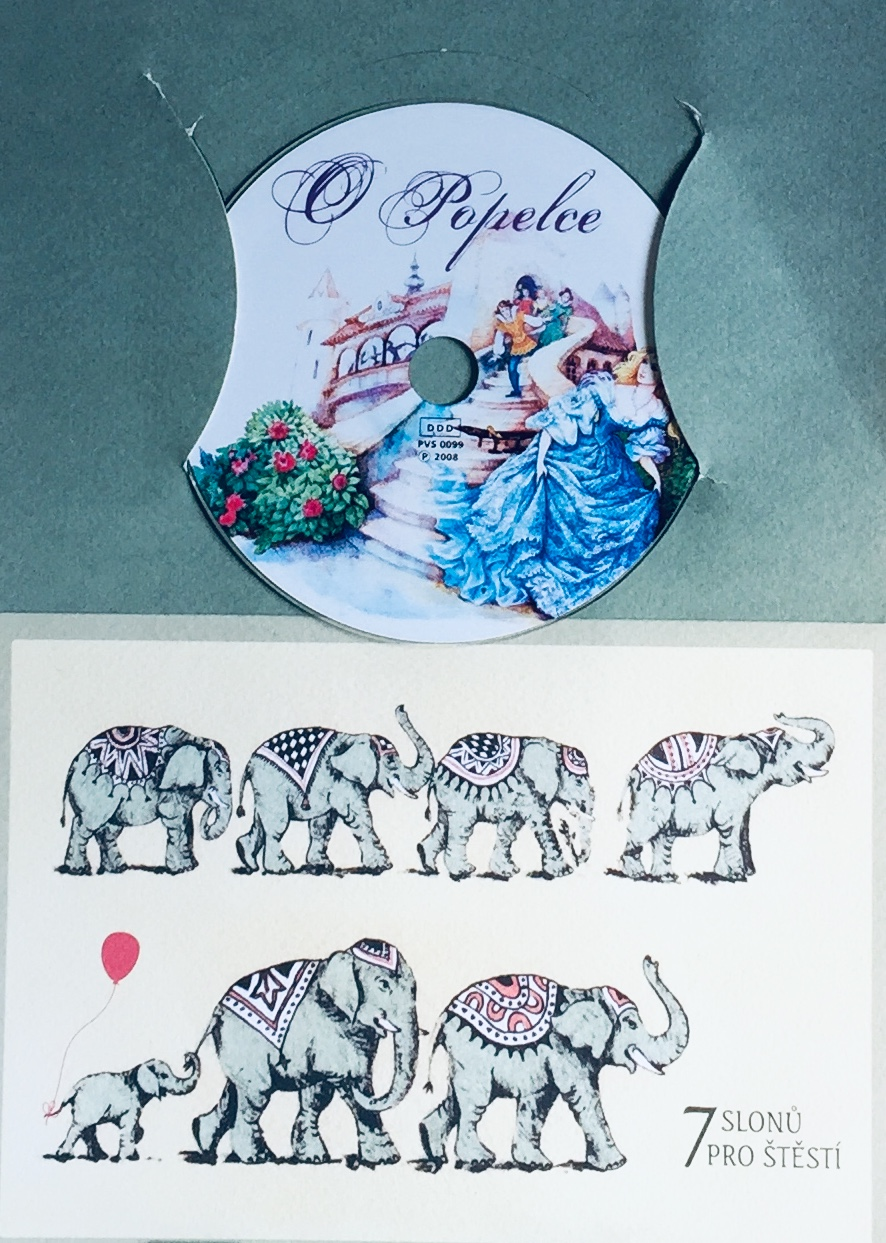 O Popelce - CD, DDD /dárkový obal/